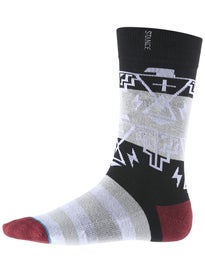 Stance Thunder God 2 Socks  Black