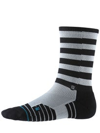 Stance Fusion Athletic Valve Socks  Black