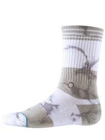 Stance Vernis Socks  Grey