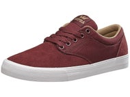 Supra Chino Shoes Burgundy/Khaki-White