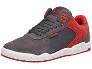 Supra Ellington Shoes Dark Grey/Red-White