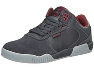 Supra Ellington Shoes Charcoal Suede