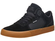 Supra Ellington Vulc Shoes Black/Gum