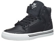 Supra Kids Vaider Shoes Black/White