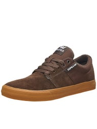 Supra Stacks II Vulc Shoes Coffee/Gum