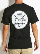 Skate Warehouse Crossed Up Premium T-Shirt
