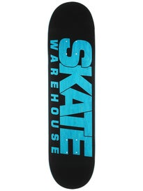 Skate Warehouse Fast Black Deck  8 x 32