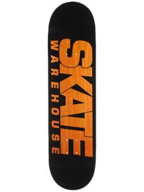 Skate Warehouse Fast Black Deck 8.12 x 32