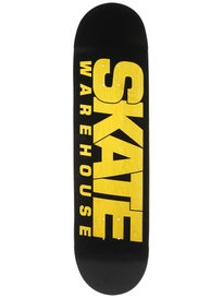 Skate Warehouse Fast Black Deck 8.4 x 32.25
