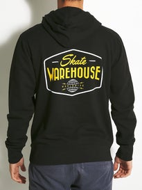 Skate Warehouse Globe Badge Lightweight Hoodie
