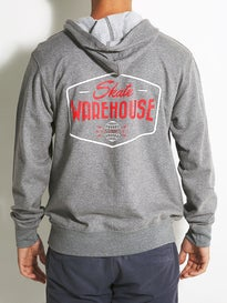Skate Warehouse Globe Badge Lightweight Hoodie