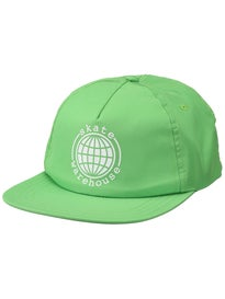 Skate Warehouse Globe Snapback Hat