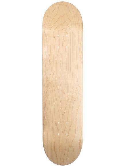 1ec823ee Skate Warehouse Blank V-Natural Deck 7.5 x 31