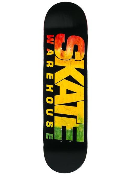 5bb45a80 Skate Warehouse Rasta Fade Deck 7.5 x 31
