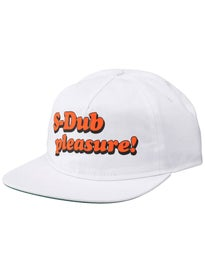 Skate Warehouse Pleasure Snapback Hat