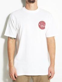 Skate Warehouse Vintage Round T-Shirt