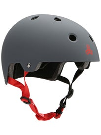 Triple 8 Brainsaver Dual Certified Helmet  Gun Rubber