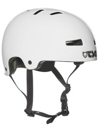 TSG Evolution Helmet Satin White