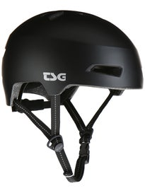 TSG Status Helmet with LED Light Satin Black