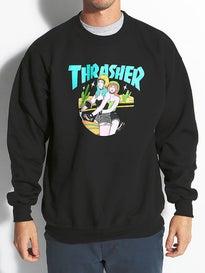 Thrasher Babes Crewneck Sweatshirt