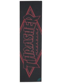Thrasher Diamond Large Red Griptape by Mob