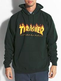 Thrasher Flame Logo Premium Hoodie