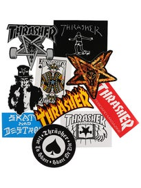 Thrasher Stickers 10 Pack