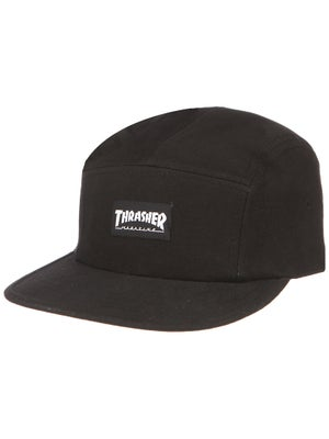 Thrasher Logo 5 Panel Hat Black