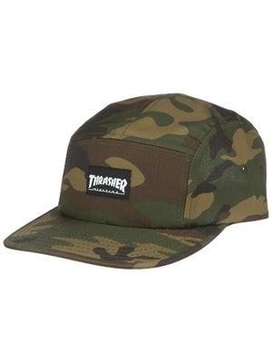 Thrasher Logo 5 Panel Hat Camo