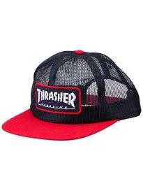 Thrasher Magazine Logo Mesh Snapback Hat