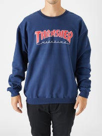 Thrasher Outlined Skate Mag Crewneck Sweatshirt