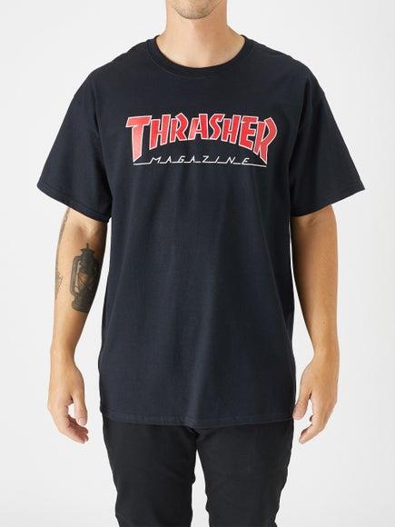 378d8b94e538 Thrasher Outlined Skate Mag T-Shirt