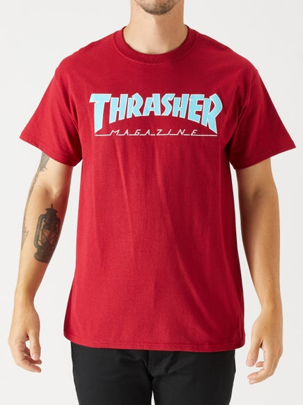 57708d405c2d Thrasher Outlined Skate Mag T-Shirt