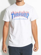 Thrasher Patriot Flame T-Shirt
