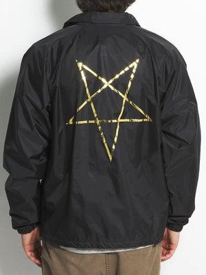 Thrasher Pentagram Coach Jacket SM Black