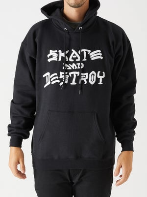 Thrasher Skate and Destroy Hoodie Black SM