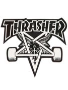 Thrasher Skate Goat Sticker Black