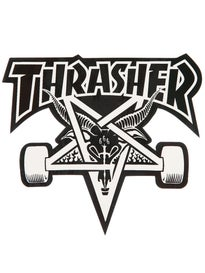 Thrasher Skate Goat Sticker Black