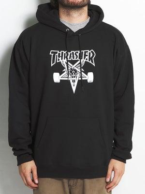 Thrasher Skate Goat Hoodie MD Black