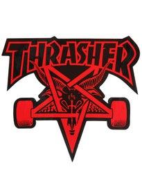 Thrasher Skate Goat Sticker Red
