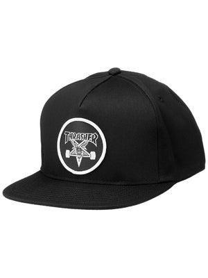 Thrasher Skate Goat Snapback Hat adj. Black