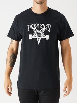 Thrasher Skate Goat Tee MD Black