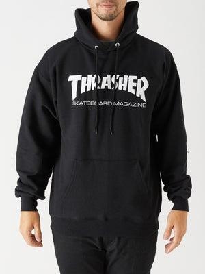 Thrasher Skate Mag Hoodie Black LG