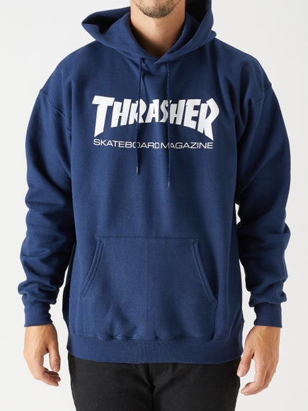 Thrasher Skate Mag Hoodie. Black. Light Grey 4f40d5ac95