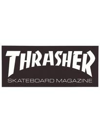 Thrasher Skate Mag Logo Medium Sticker Black