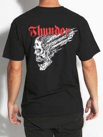 Thunder Screaming Skull Double T-Shirt