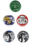 Thrasher Usual Suspects Buttons 5 Pack