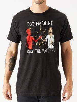 Toy Machine Bury The Hatchet II Tee MD Black