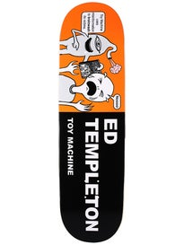 Toy Machine Templeton Tracts Deck 8.5 x 32.375