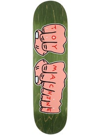 Toy Machine Woodgrain Fists Deck 8.25 x 32.5